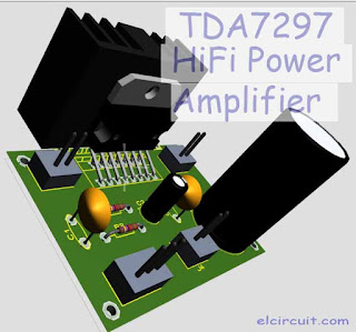 TDA7297 Power Amplifier circuit