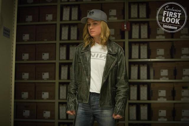 Brie Larson Capitã Marvel Primeiras imagens 05