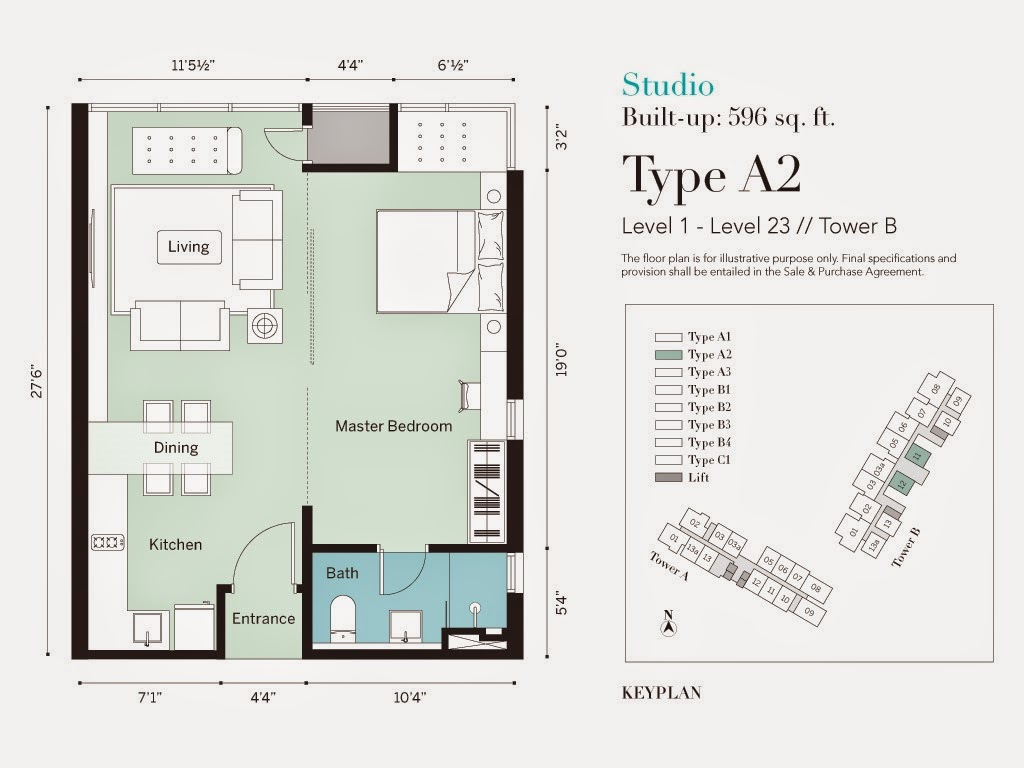 1 Desa Residence Floor Plan Review For The Westside Three