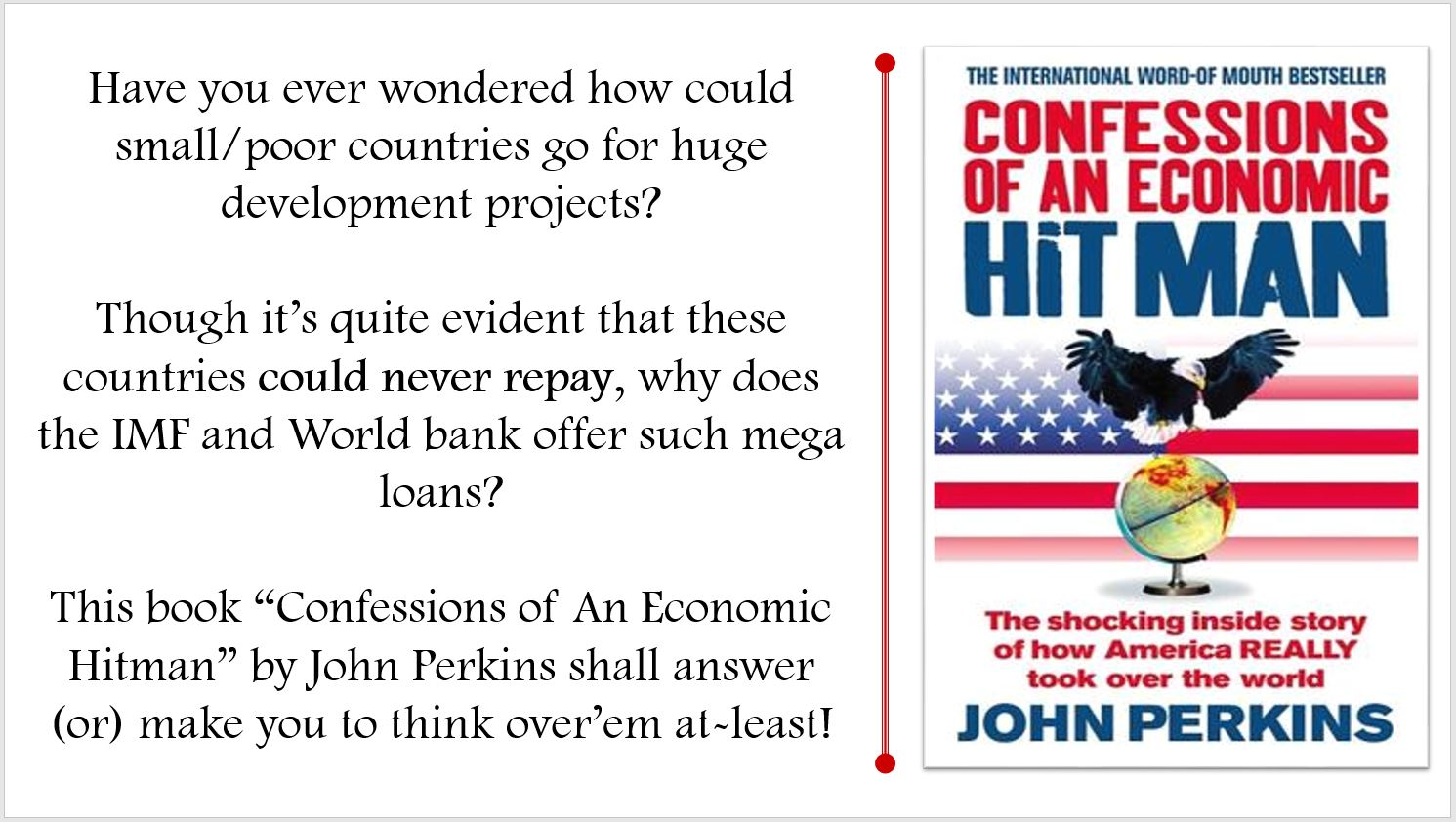 confessions of an economic hitman summary