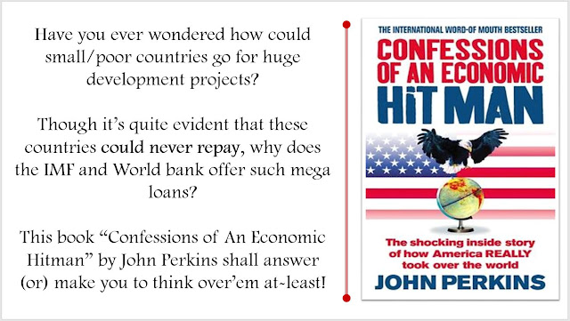 Confessions of an Economic Hit Man - by John Perkins