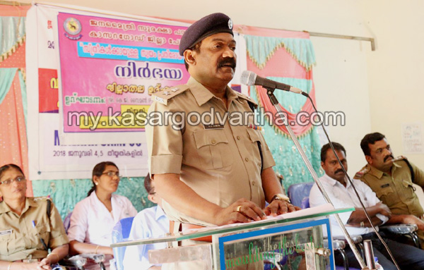 Kerala, News, Kasargod, Police Self Defense training conducted.