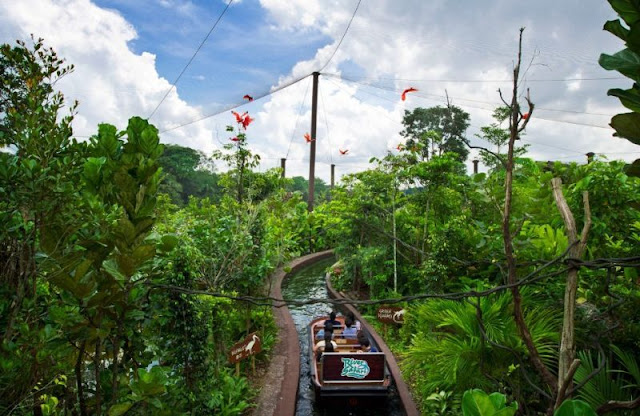 River Safari Wildlife Park Tempat Wisata di Singapura : tempatwisata.biz.id