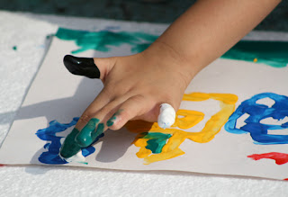 Finger Paint School Paints