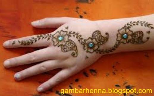 Contoh Henna Yang Mudah Dibuat
