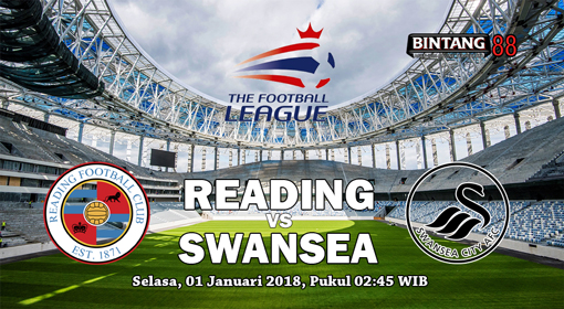 Prediksi Reading vs Swansea City 1 Januari 2019