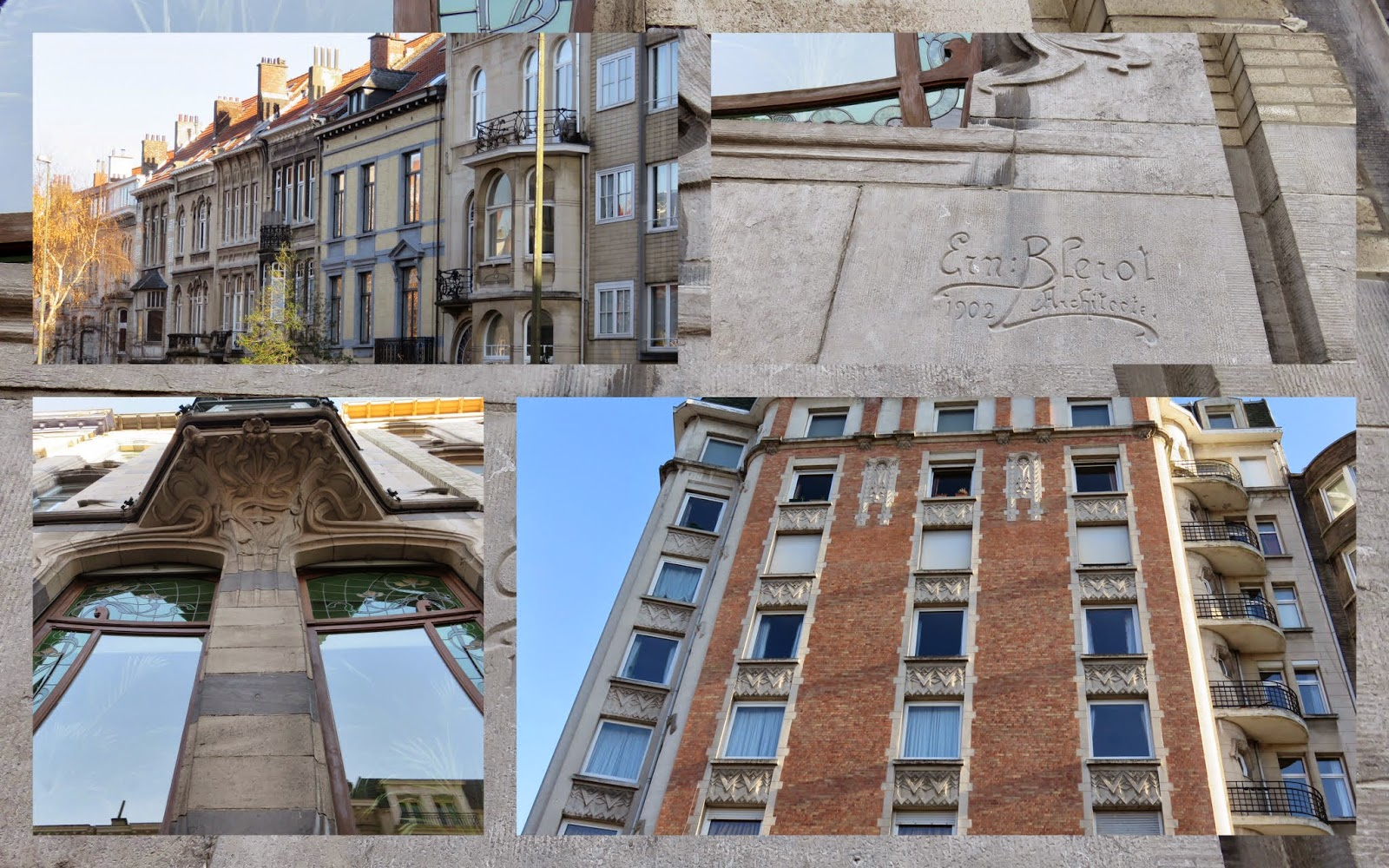 Brussels - Art Nouveau Buildings