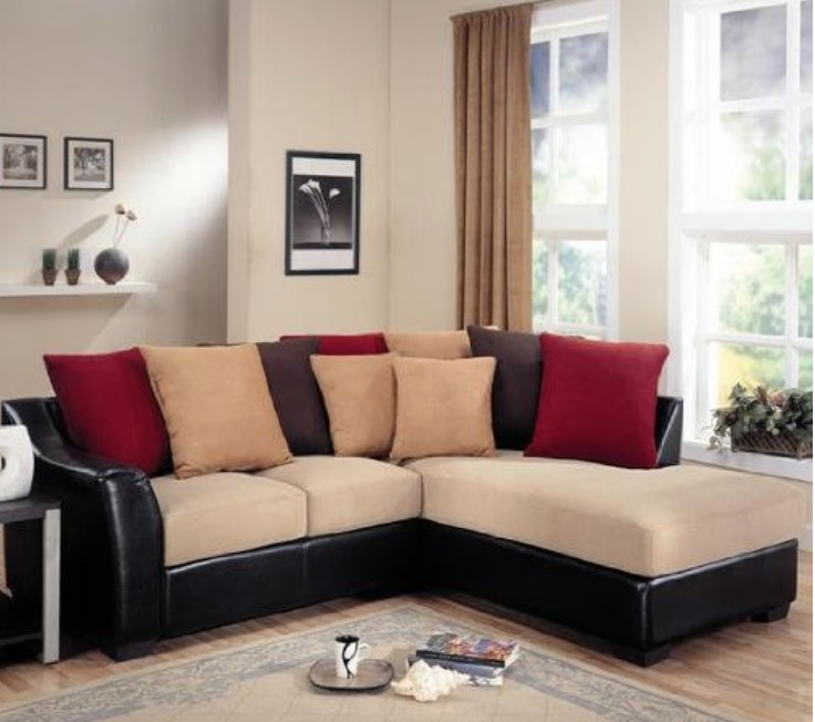 Can I Have It Now Coaster Lily Sectional Chaise Sofa