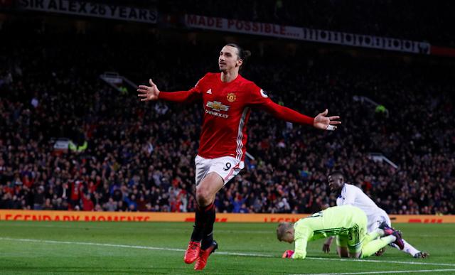 Photo Ibrahimovic MUFC