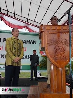 Acara Pencanangan Pemindahan Ibu Kota Provinsi Maluku