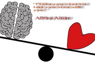 """""""Следвайте сърцето си, но вземете мозъка си с вас."""""""