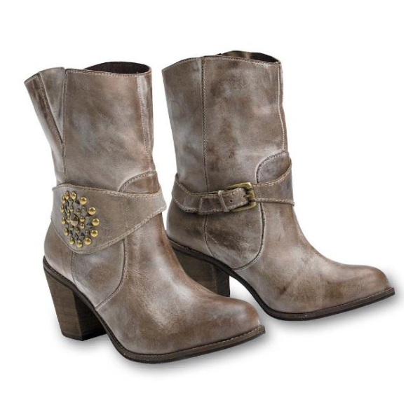 Taupe Cowgirl Boots King Ranch Saddle Shop - A Glimpse of Glam