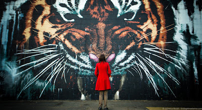 Glasgow Street Art Tiger_by_Laurence Norah
