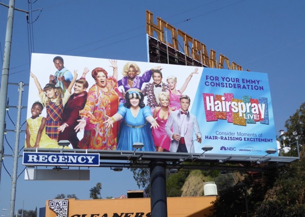 Hairspray Live Emmy billboard