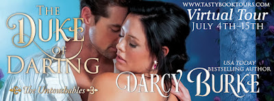 {Review | Excerpt | Giveaway} The Duke of Daring (The Untouchables #2) – Darcy Burke