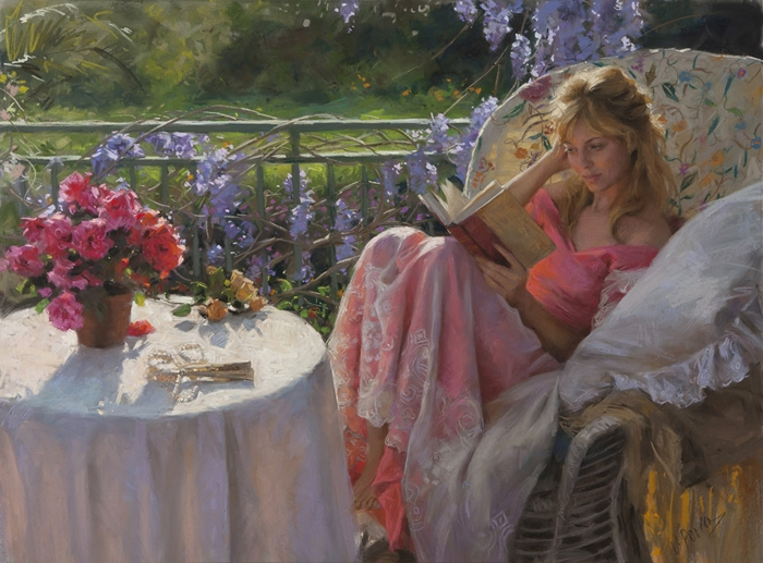 Vicente Romero Redondo 1956 | Spanish Figurative painter