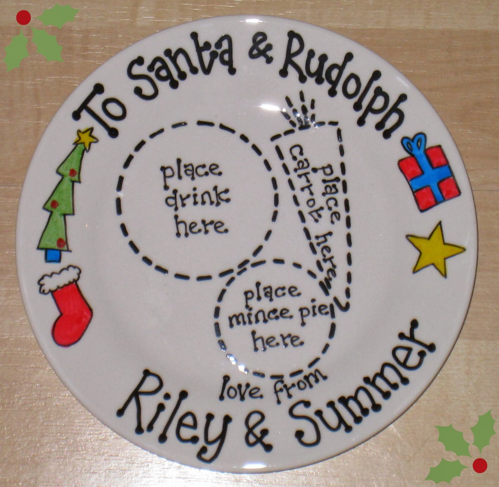 how cute is this christmas plate from christmas plates co
