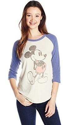 Mickey Mouse Raglan Tee