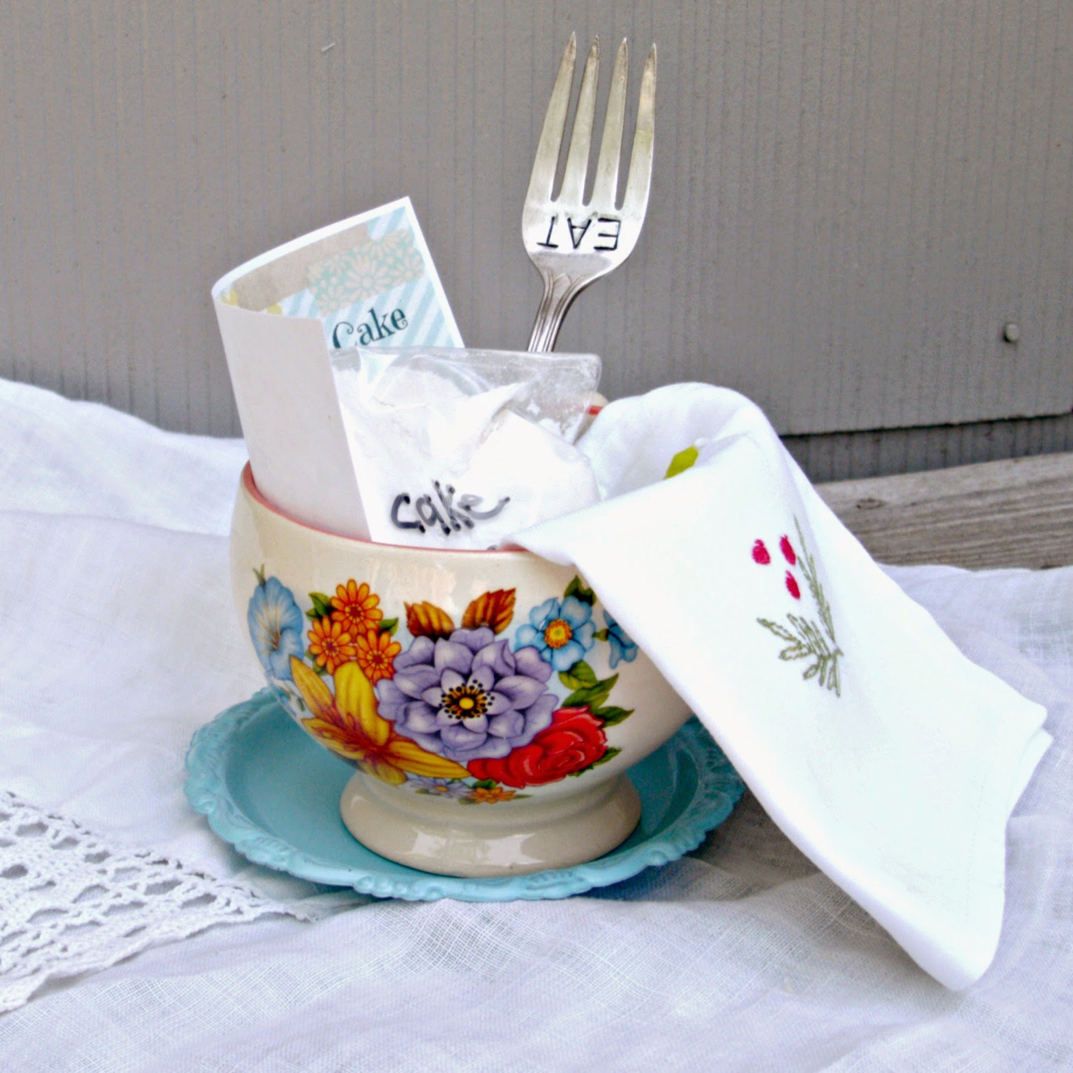 Diy Coffee Mug Gift Baskets Little Vintage Cottage