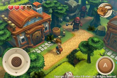 Oceanhorn-iPhone4S-bullshot-small Que tal um Legend of Zelda Wind Waker para iOS?