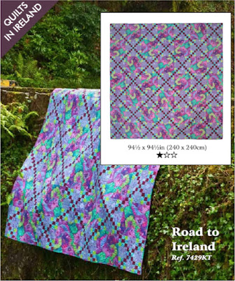 Road to Ireland quilt from Quilts in Ireland