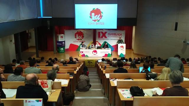 """Ezker Anitza quiere construir un """"bloque social y político"""" para cambiar las políticas neoliberales"""
