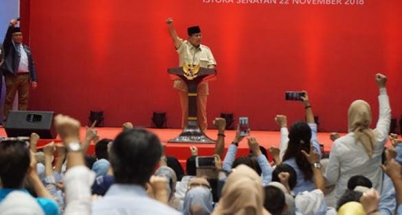 Prabowo: Koalisi Kami Agak Aneh, Ada Anak Bung Karno hingga Anak Pak Harto