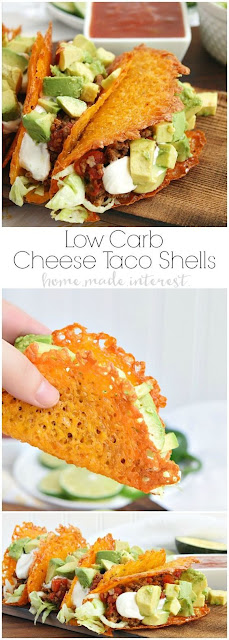 Cheese Taco Shells For A Low Carb Taco Night