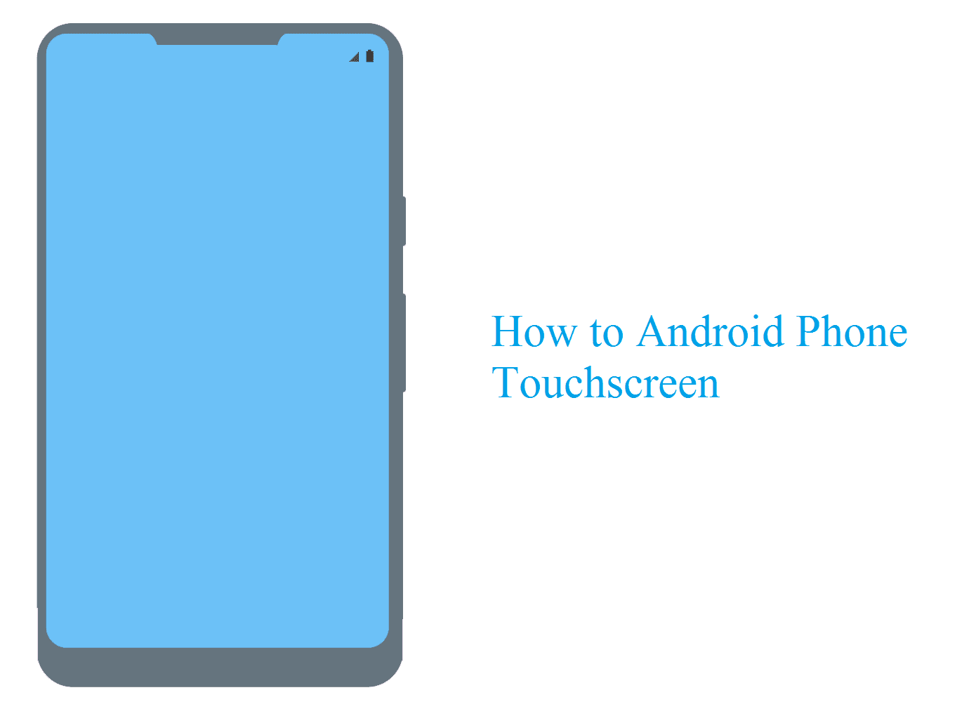 Cek touchscreen HP Android