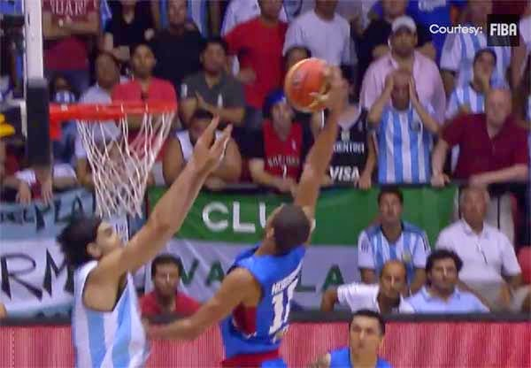 Gabe Norwood Poster Dunk Over Luis Scola