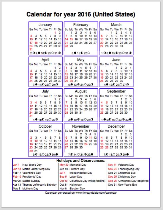 Dps Calendar.Planner Set Up Pages 6 7 Dps 2015 2017 Grouped Calendars 2016