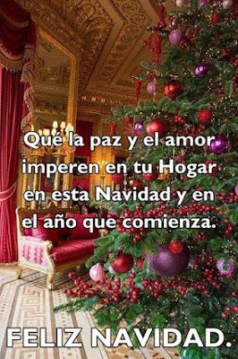 Imagen Con Mensaje De Navidad Para Facebook