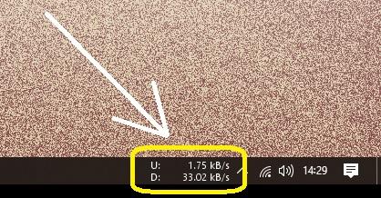 Cara Menampilkan Kecepatan Internet di Toolbar Windows 10