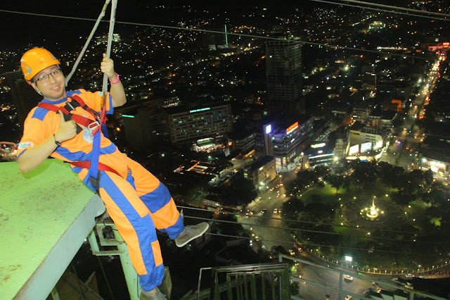 Ziplining in Cebu City - Renz Cheng