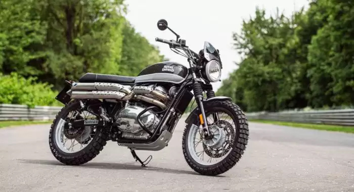 This Royal Enfield Interceptor 650 Is Ready To Scramble