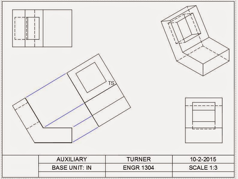 ENGR1304: Chapter 5: Auxiliary Views