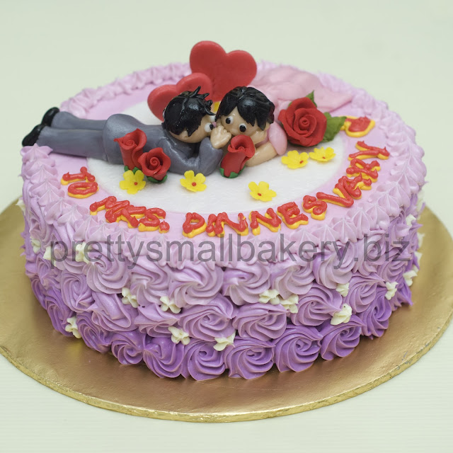 kek hantaran kawen  wedding cake yang cantek
