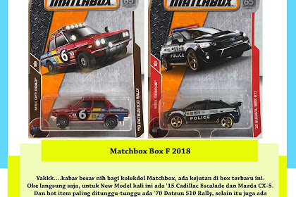 Bocoran Matchbox Box F 2018