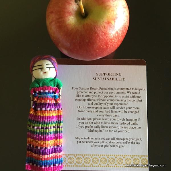 good luck worry doll displayed at Four Seasons Resort Punta Mita