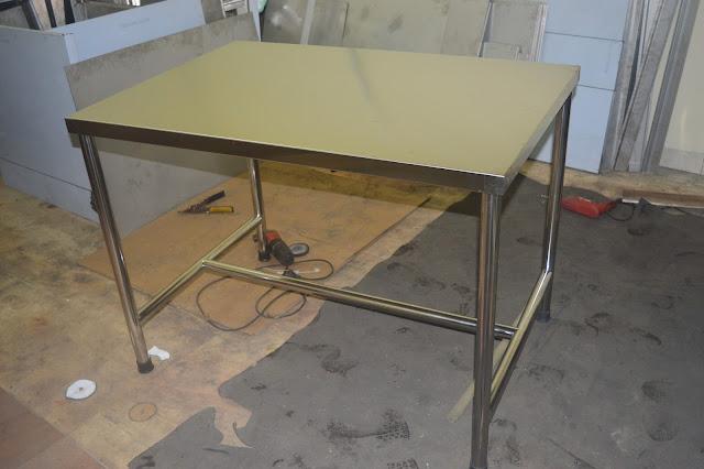 Gambar meja dapur stainless harga murah - reymetal.com