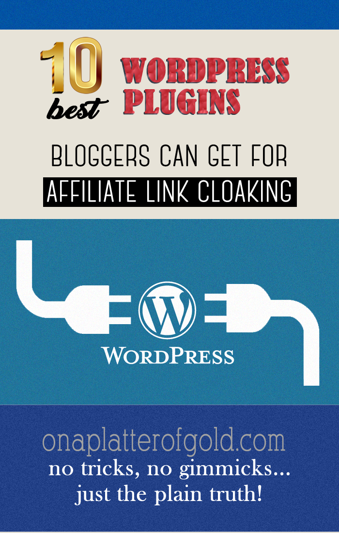 Powerful FREE Affiliate Link Cloaking WordPress Plugins For Bloggers And Affiliate Marketers