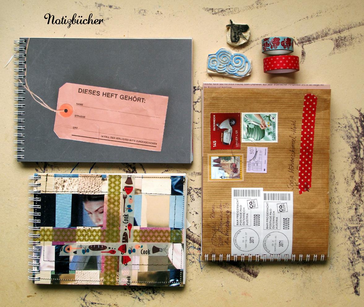 diy geschenke easy redesign notizbuch. Black Bedroom Furniture Sets. Home Design Ideas