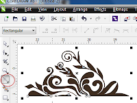 Cara Membuat Motif Batik dengan Corel Draw