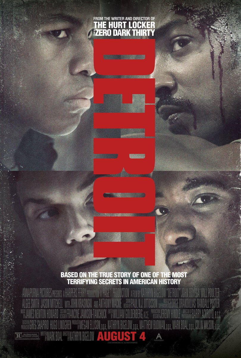 Watch Detroit (2017) Online