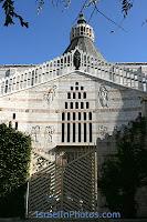 Храм Благовещения в Назарете, христианских святынь, Христианские, Каникулы в Израиле, Путеводитель