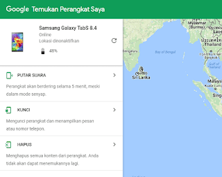 Samsung Galaxy Tab S Mode Android Device Manager