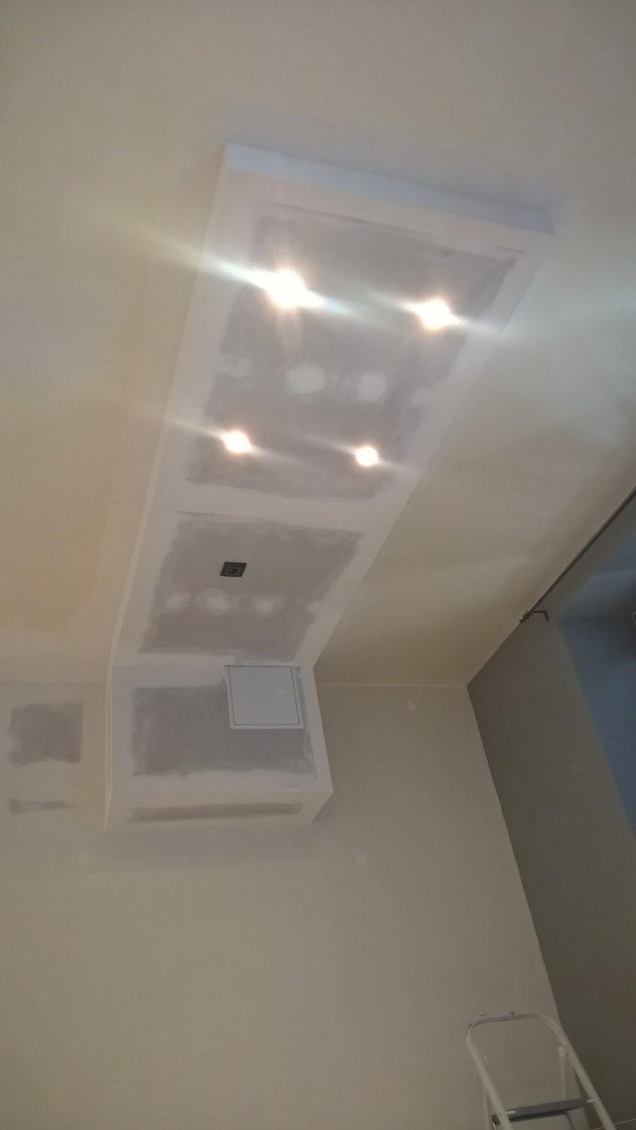 Spot led pour cuisine spot led dali pour miroir 68w spot encastrable meuble de cuisine archive - Caisson eclairage plafond ...