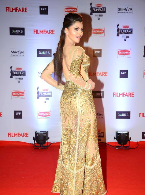 Urvashi Rautela in See-through Dress
