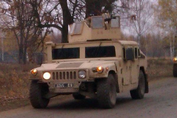 HMMWV M1114 8265 E9