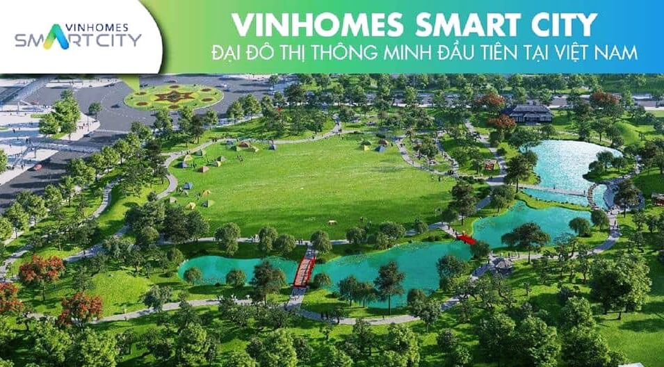 Môi trường sống xanh tại chung cư Vinhomes Smart City
